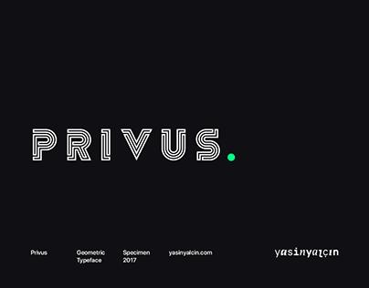 Privus Typeface — Free Demo