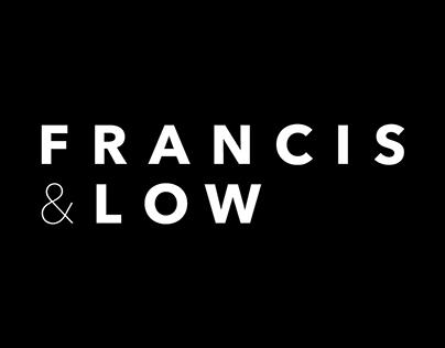 Francis & Low – Branding