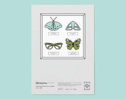 MEMIRIA - Historical eyewear