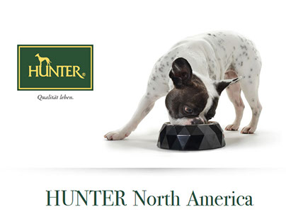 Hunter North America Website Design
