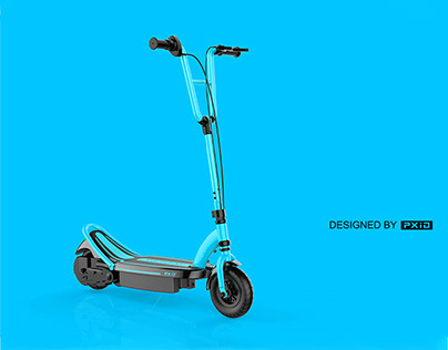 Steel tube electric scooter design