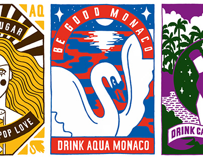 Aqua Monaco Art Series