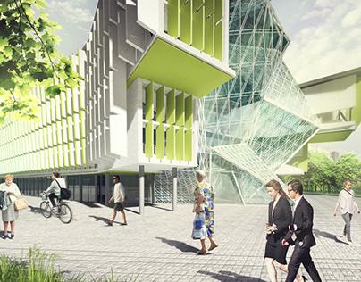Clinical innovation centre of the MC,Kazan