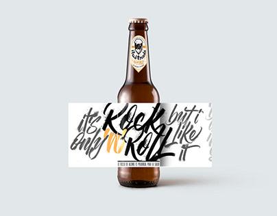 Cerveza Ilustrada - Rock n Roll