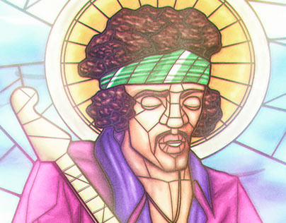 Saints of Rock - Jimi Hendrix