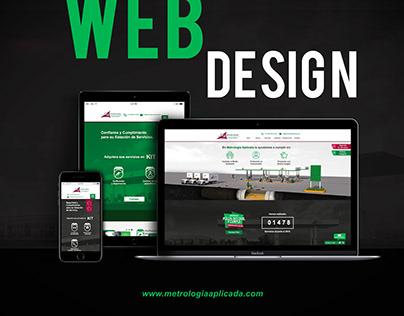 Web Site Design - Metrología Aplicada - Proyect