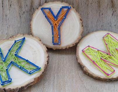String Art sur le bois