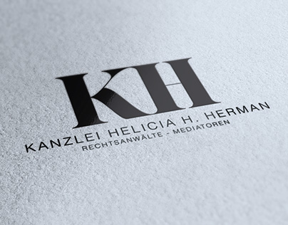 Kanzlei Herrmann - Corporate ID, Stationery, Web
