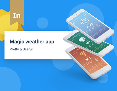 Magic weather — weather mobile app