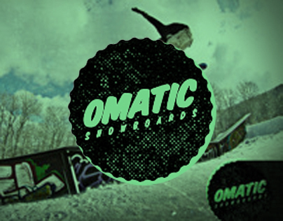 Omatic Snowboard Ads