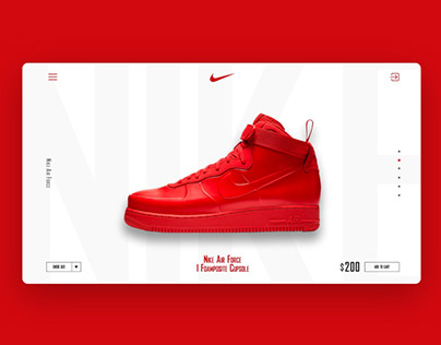 Nike shoes (minimal product page)