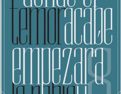 Diseño Tipográfico - Vesper Font
