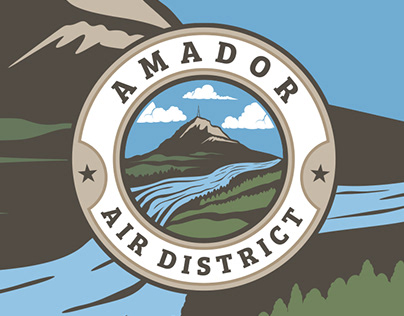 Amador Air District Logo