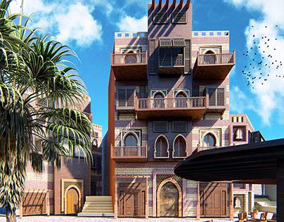 Renovation- Salah -El- Din- Area