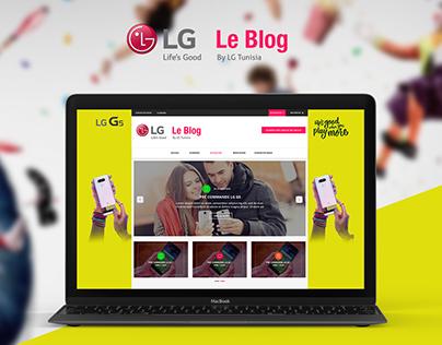 LG Electronics  | Le Blog  ☻