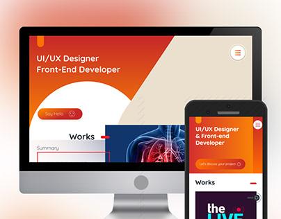 UI Design - Personal Website