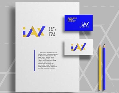 iAX visual brand identity concept