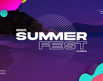Absolut Summer Fest - Identidade Visual