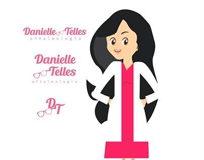 Identidade visual para Oftalmologista Danielle Telles