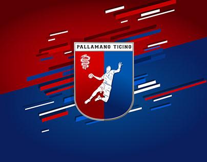 Associazione Pallamano Ticino Branding and Flyer