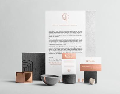 Upstairs - Interior Designer Full Branding