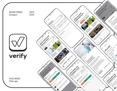 Verify | UX/UI News App Concept