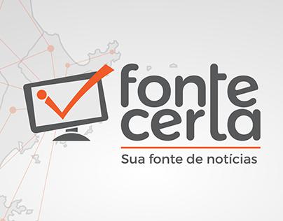 Logo, Social Media e Peças do portal Fonte Certa