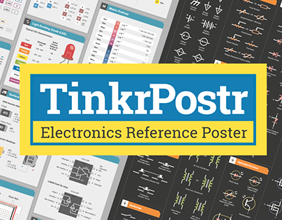 TinkrPostr: Electronics Quick Reference Posters
