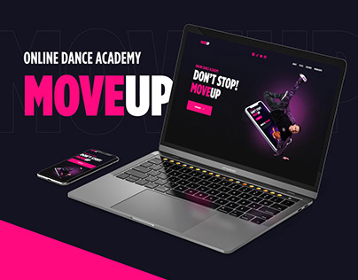 MoveUp: site for online dance academy