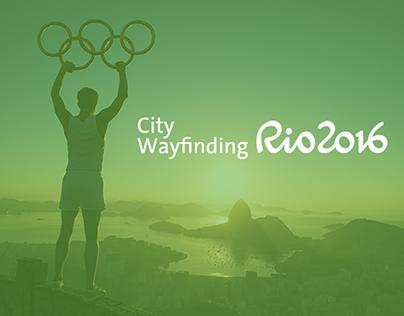 Olimpíadas Rio 2016 | City Wayfinding