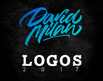 Lettering & Calligraphy Logos 2K17 | Vol.1