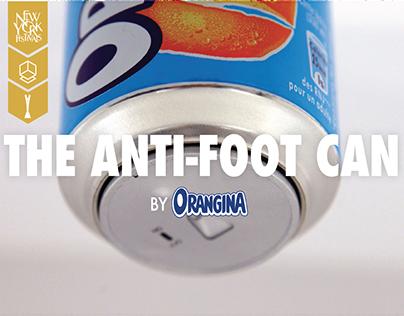 Orangina - The Anti-Foot Can
