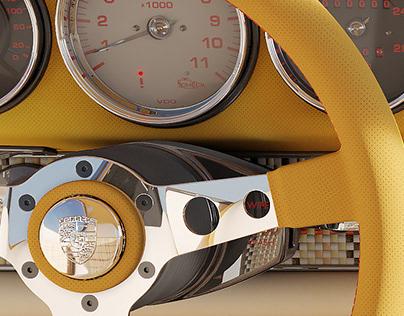 Porsche 911 Reimagined by Singer - interior