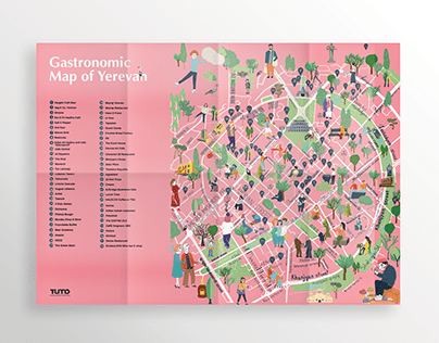 Gastronomic Map of Yerevan