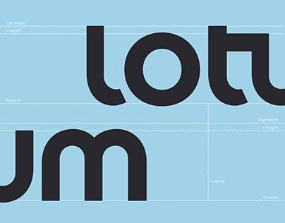 Lotum Alphabet