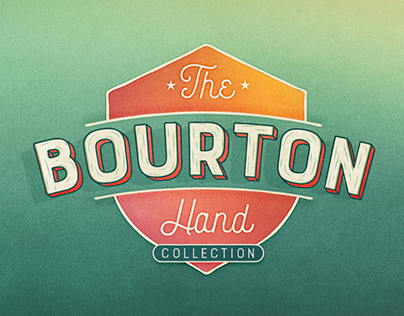 Bourton Hand Type Collection