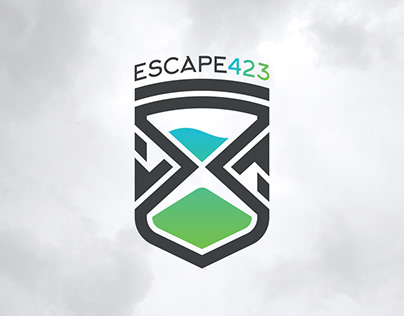 Escape423: Logotype design for an escape game