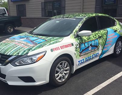 Aspen Tree Experts Vehicle Wrap