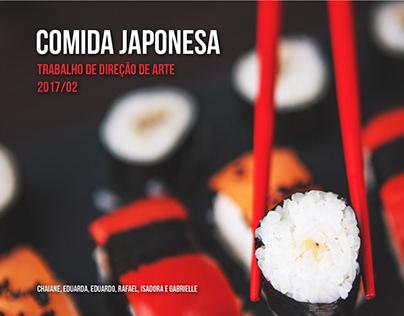 Direção de arte / Anúncio para Restaurante