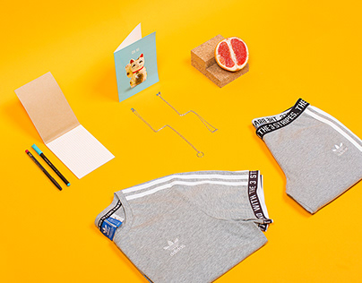 Sportswear Flatlays - Art Direction & Set Styling