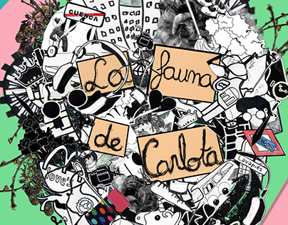 "Poster for the play ""La fauna de Carlota"""