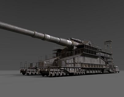 Schwerer Gustav Railway Gun