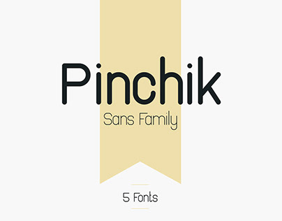 PINCHIK LIGHT - FREE FONT