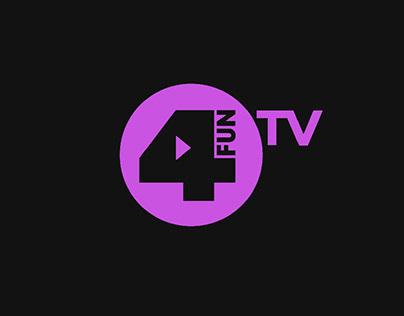4Fun.Tv 2018 new communication and design