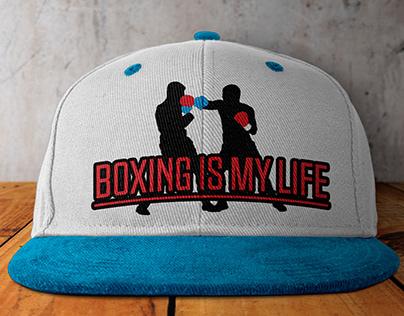 Boxing | UFC Cap Design and Mock-up