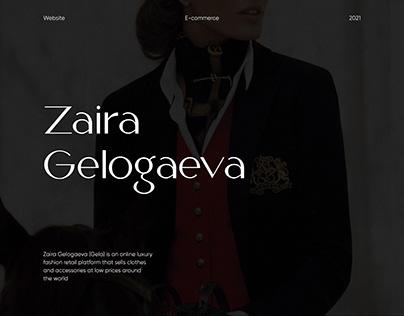 Zaira Gelogaeva Online Luxury Shop