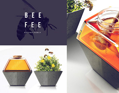 Bee Fee - honey concept made for Opus B