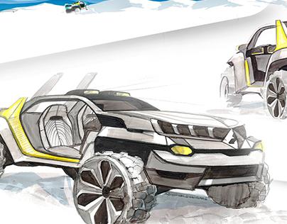 CROSSCORE - Pick Up Truck Concept