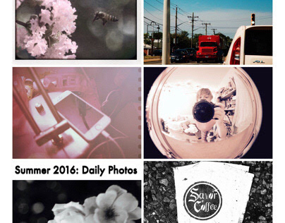 Summer 2016: Daily Photos