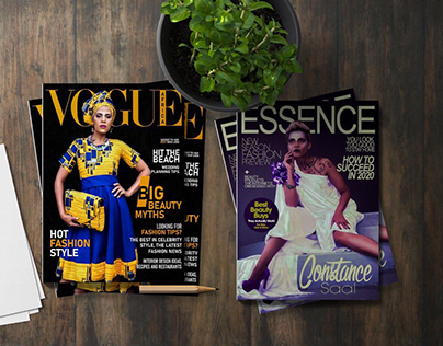 Magazine, Company Profile, Portfolio Design